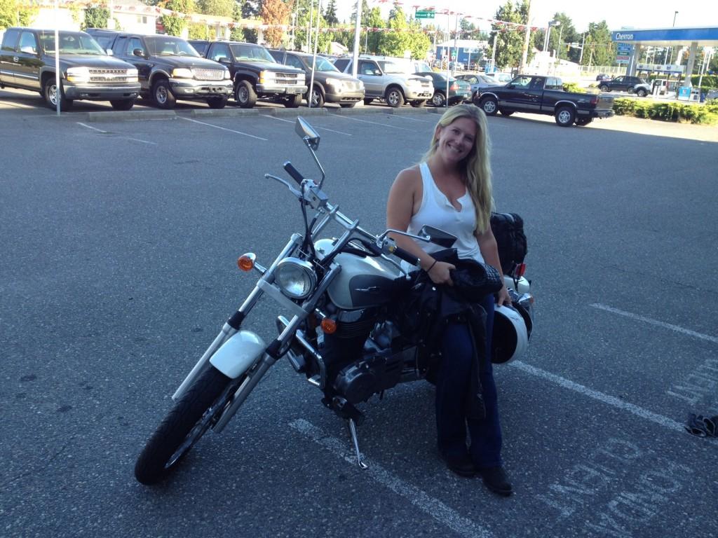 Sara the Biker